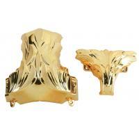 Buy cheap Dark Gold Plastic Coffin Corner 1# DG Model No. For Metal Casket Handle product