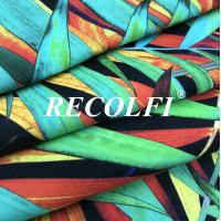Buy cheap Carvico Vita Floral Print Fabric , Four Way Stretch Fabric For Texworld Usa Swim Sports from wholesalers