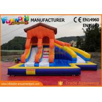 Buy cheap Giant Inflatable Water Slide Clearance For Adult Customized Color product