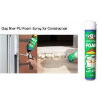 Buy cheap Multi - Purpose B2 Fireproof Foam Filler Spray , Off White High Density Spray product