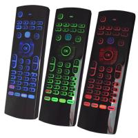 Wholesale T3 Air Mouse Backlight Smart Remote Wireless Keyboard For Android Box from china suppliers
