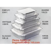 Buy cheap With paper lids clear lids FDA certificate food grade disposable 700 1000ml 1200ml 7 8 9 aluminum foil food BAGEASE from wholesalers