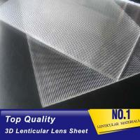 Buy cheap standard PS 20 lpi 3d lenticular lenses sheets suppliers for sale-buy online lenticular lens sheet price in india from wholesalers