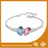 Wholesale Customzied Adjustable Metal Bangles & Bracelets Gold Plated 15mm from china suppliers