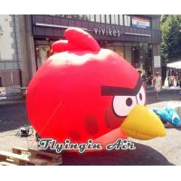 Customized Angry Birds Model, Cheap Inflatable Red Bird for Sale