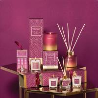 Wholesale Custom fragrant reed diffuser and wholesale luxury candle jar for gift set from china suppliers