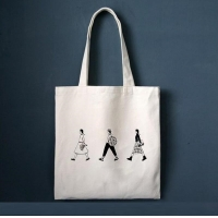 Buy cheap Custom Printed Tote Shopping Bag Cotton Bags With Logo from wholesalers