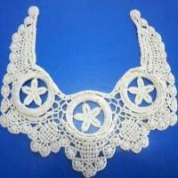 Buy cheap Costume Collar Motif, Made of Cotton Crochet, Available in Various Designs from wholesalers