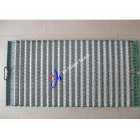 Wholesale Stainless Steel Wire Mesh Hookstrip Rock Shaker Screen Wave Type For Waste Management from china suppliers
