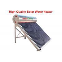 Buy cheap Reliable Vacuum Tube Solar Water Heater , Heat Pipe Solar Water Heater product