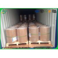 Buy cheap Double Sides Uncoated Jumbo Roll Paper 841mm 55gsm 60gsm 70gsm 80gsm For School Excercise product