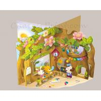 Buy cheap Custom Pop up Book Printing for children product