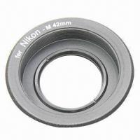 Wholesale Lens Adapter Ring for M42 Lens and Nikon Mount Adapter, with Infinity Focus Glass from china suppliers
