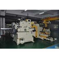 Buy cheap Metal Steel Coil Straightening Machines , Punch Roller Straightener Feeder Stamping Process from wholesalers