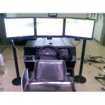 Buy cheap 3 screens car driving simulator from wholesalers