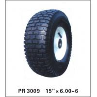 Buy cheap puncture proof pneumatic  wheelbarrow wheel  trolley wheel 6.00-6 from wholesalers