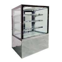 Buy cheap Air Cooling Refrigerated Glass Display Case Cafe Cake Display Fridge CE from wholesalers