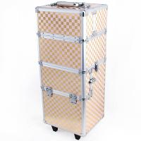 Wholesale 4 In 1 Makeup Trolley PC Waterproof Case Cute Carton Design Printing from china suppliers