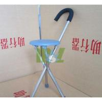Buy cheap Aluminum folding cane with seat | Crutch stool - MSLAC03 from wholesalers