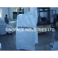 Buy cheap Firewood packaging Peanut big bags FIBC with ventilated polypropylene fabric product