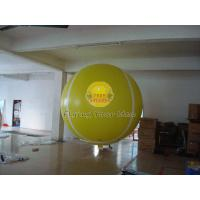 China Yellow Full Digital Printed Sport Tennis Ball Balloons with 170mm Tether Points for Party on sale