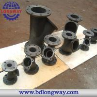 water treatment pipe fitting cast iron casting Manufactures