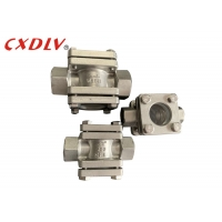 Buy cheap 3/4 Plain Threaded CF8 BSP DN50 Flow Indicator Sight Glass from wholesalers