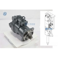 Buy cheap HPV145 Direct Injection Hydraulic Pump ZX330-3 ZX330-5 ZX350-5 Excavator Pump Engine Parts from wholesalers