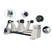 Buy cheap Fully Automatic RS-1500H Hydraulic Mill Roll Stand , Paper Roll Stand With Multipoint Brake from wholesalers