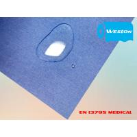 Buy cheap Spunlace For Surgical gown fabric of spunlace non wovens in white color plain surface spun lace from wholesalers