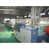Buy cheap Silicon Core HDPE Plastic Pipe Production Line , Pipe Diameter 16-63mm from wholesalers