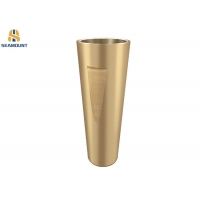 Buy cheap Pyb-900 Cone Crusher Spare Parts Brass Copper Taper Bushing from wholesalers