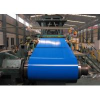 Buy cheap OEM 508mm CID RAL Color Aluzinc Prepainted Steel Coils With Protective Film from wholesalers
