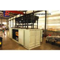 Buy cheap 50Hz 1000kw Container Generator Set With Electrical Start Motor , 5 ~ 12 kPa Fuel Gas Pressure from wholesalers