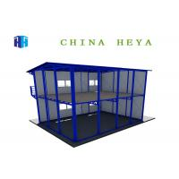 Buy cheap Labor Saving Double Storey Prefab Houses Modular Dormitory Construction Heat Insulation from wholesalers