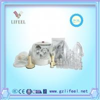 Buy cheap Female lymphatic drainage and nipple breast pump enlargement breast growing cupping therapy cupping glass cups machine from wholesalers