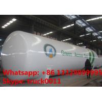Buy cheap factory price of lpg gas propane tank for sale, ASMEstandard highquality bulk lpg gas pressure vessel tank for sale from wholesalers