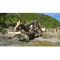Buy cheap Mobile Cone Crushing Station mobile crushing plant station construction wastes portable rock crusher from wholesalers