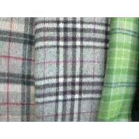 Buy cheap Woolen Checked Fabric from wholesalers