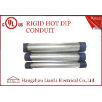 China RGD Galvanized Rigid Steel Conduit , 1/2 Inch 4 inch Electrical Conduit Tubing on sale
