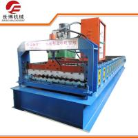 Buy cheap Prepainted Iron Corrugated Type 846 Roofing Sheet Bending Roll Forming Machine from wholesalers