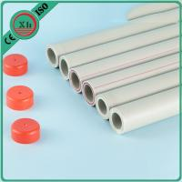 Buy cheap Residential System Plastic PPR Pipe , PPR Plumbing Pipes White / Green / Grey Color from wholesalers