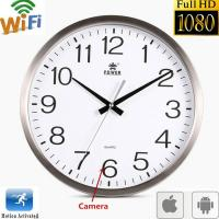 Buy cheap Wifi Spy Camera Wall Clock Wireless Full Hd 1080P Hidden Video Recorder Spy Video Made in China from wholesalers