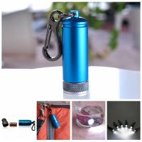 Buy cheap promotional waterproof LED keychain light from wholesalers
