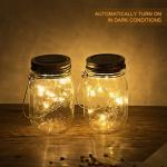 Buy cheap Solar Mason Jar Light ,LED Solar Powered Glass Light, Decorative Outdoor Hanging Lamp ,String Fairy Lantern Warm White 1 from wholesalers