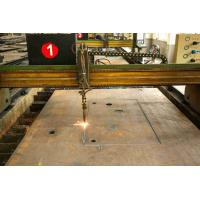 China Embedded Punching Laser Cutting Steel Plate For Building Material SGS Approval on sale
