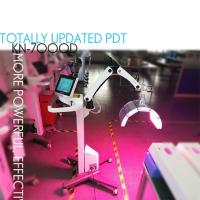 Buy cheap manufacture 4 Colors Facial Treatment Pdt Led Light Therapy Machine SMD LED dose model dose calibration from wholesalers