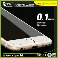 Buy cheap Wholesale 0.1mm 180° Bent Tempered Glass Screen Protector for Mobile Phone from wholesalers