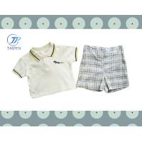 Buy cheap Short Sleeves 2 Pieces Casual Cotton Baby Layette Set Clothes For Summer from wholesalers