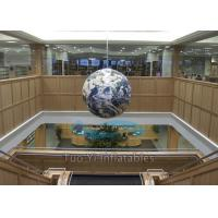 Buy cheap Giant Customized Earth Globe Balloons Rental For Outdoor / Indoor Exhibitions product